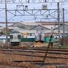 長野総合車両センター廃車置場周辺(4/22)