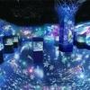 冬の風物詩として毎年開催してきた「スノウ アクアリウム」がプロジェクションマッピングで美しい銀世界を表現!
