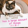 【週末英語#244】英語で大人買いは「buy a large amount of things」?