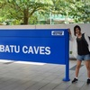 バトゥ洞窟観光