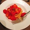 ダルマットでおいしいいちごパスタが食べられる!