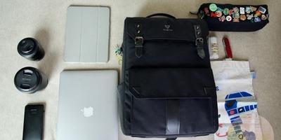 とある男子大学生ブロガーのバッグの中身。リュックの中は整理整頓が大事。