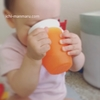 離乳食お助けアイテム「倒してもこぼれないコップ」を追加購入しました。