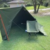 雨キャンプのあとはデイキャンプ?