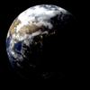 Blender 313日目。「地球のモデリング」その4~夜の明かりの表現~。