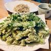 山菜の揚げ物パラダイス