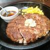 いきなりステーキは主役メニュー意外もおいしい!ワイルドハンバーグが最強!