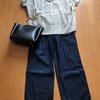 今日の服とランチ