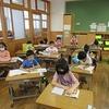 1年生:朝の教室