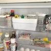 【ダイソー】積み重ねボックスを使って冷蔵庫収納の見直し!