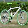 1万円のクロスバイクを買ってみた (3) 写真撮影とジオメトリチェック