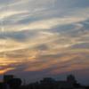今日の1枚 ~秋の夕焼けと雲~