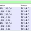 example.comのTLS1.3ハンドシェイクを見てみる