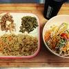 筋トレ前の栄養補給。今日の晩御飯(^ー^)