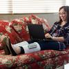 深部静脈血栓症(DVT)治療が在宅できる?携帯型装置あります。