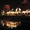 P900 手持ちで夜を撮ってみた 小倉城界隈