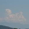 真夏のような雲