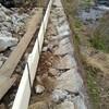 湯河原で護岸修理
