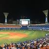 横浜スタジアムでパブリックビューイング、日本シリーズに王手を掛けるのこと