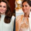 キャサリン妃VSメーガン妃、バッキンガム宮殿でのファッション対決の勝者は?【ドレススタイル】