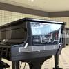 金沢駅の地下広場にはストリートピアノがある