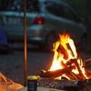 道志村『山伏キャンプ場』ピザ窯に売店に至れり尽くせりのキャンプ場で凍える初の雨キャンプ。