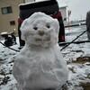 雪にはご注意を!