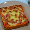 簡単に作るピザトーストレシピ