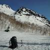 残雪期焼岳と、美ヶ原-霧ヶ峰