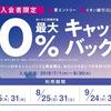 イオンカード20%還元×d払い20%還元で40%以上の還元!