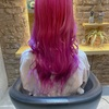 ♡ ハデ髪 ピンク 2019年hairを振り返る ♡