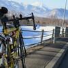 今年初の自転車通勤