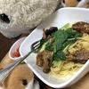 部活系男子のガッツリ飯☆サバのペペロンチーノ