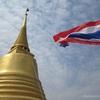 13番 黄金の山というより、黄金の冠が乗った山は大人気のお寺(2)