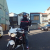 トライアンフ・ストリートトリプルに乗る 東京都大田区