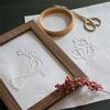 全2回コース 3/19(木)・4/23(木) 「シュバルム刺繍の花と鳥」ワークショップのご案内