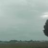 雲が晴れない筑波山