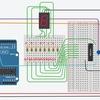 TinkercadによるArduinoシミュレーション31 ~ シフトレジスタによる7セグメントディスプレイ表示