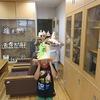 2年生:帽子をかぶって行進