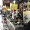 ドンスアン市場の食堂でブンチャー