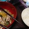 妹の家で夕飯を頂いてきました。肉と白菜を煮込んだモノが想像以上に美味しかったです。