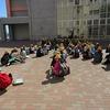 5年生:校外学習 平洲記念館へ出発