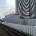 JR長町駅隣接、(仮称)長町駅東口開発の建設状況(2020年7月)