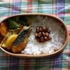 29冊目『有元葉子の「和」のお弁当』から2回めはさわらのカレー粉焼き弁当