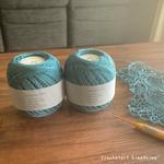 ダルマレース糸#20のマットな質感で編む|かぎ針編みのオリジナルモチーフ
