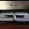 ドット柄が可愛い!初めてのキャップレス万年筆、キャップレス絣(かすり)