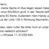 【DTZ A1/B1】ドイツ語試験『ライティング(Schriftlicher Ausdruck (Brief))』攻略法②