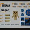 Amazon Web Servicesとサイボウズのノベルティ