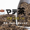 【飲むサラダ】マテ茶15の効能・効果【摂取量・注意点】