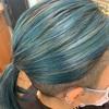 今週も幸せなヘアデザインたくさんでした【ブルー系カラー】が大人気❤︎